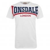 Lonsdale T-Shirt Creaton slim fit